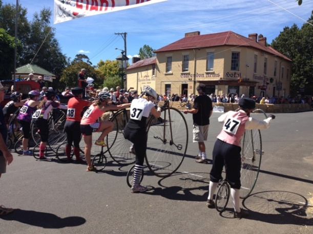 Evandale Penny Farthing Races