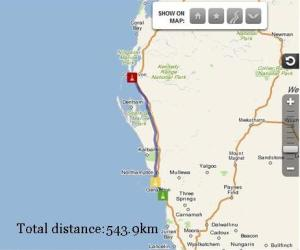 Seven Mile Beach to Carnarvon