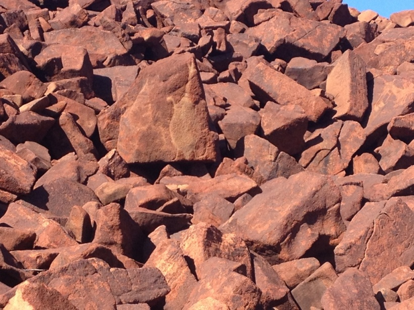 Burrup Rock Art 1822