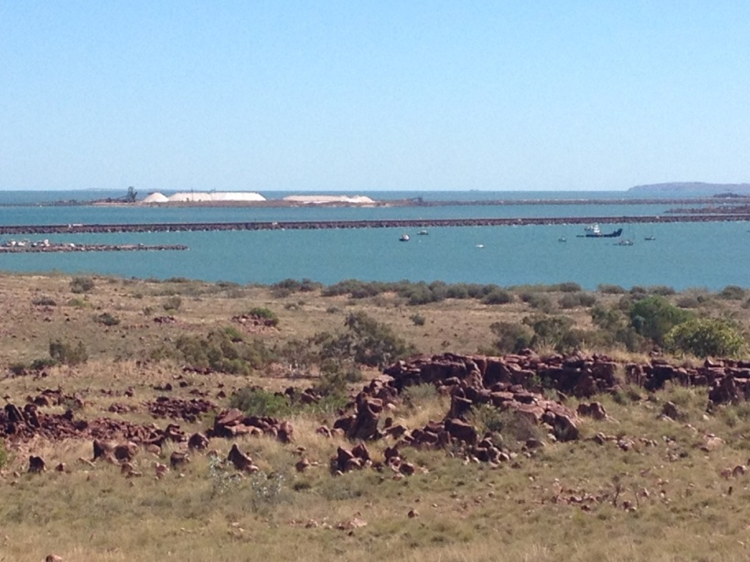 Dampier Salt for loading