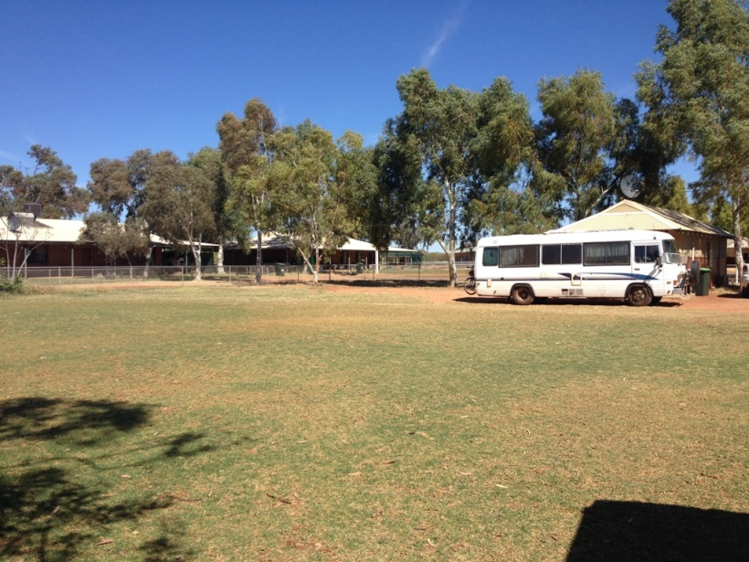 Wilma's bus at Karalundi