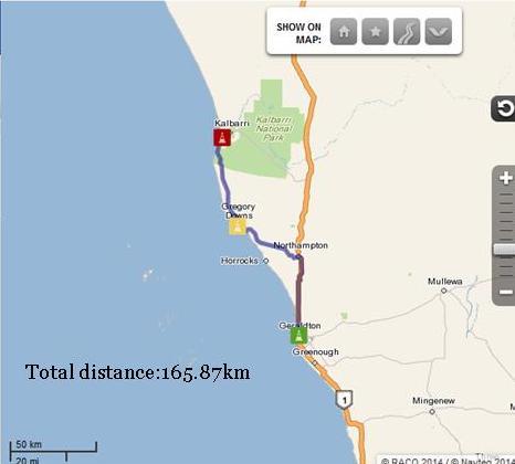 Geraldton to Kalbarri