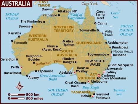 Australia - By Douglas Adams - A bloody good read! (1/4)