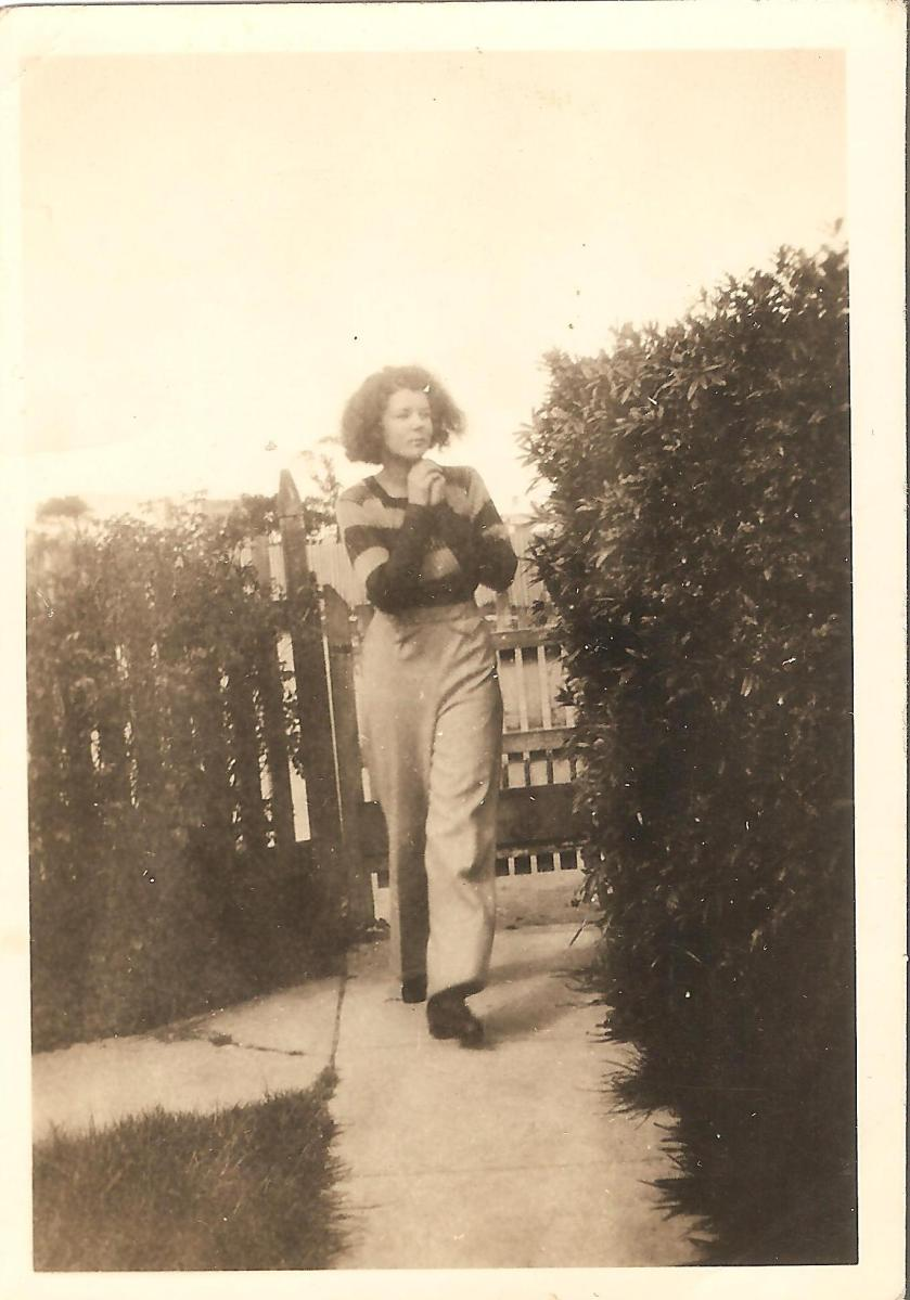 Aunty Molly at Yarram