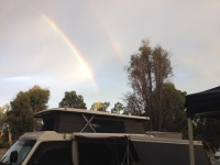 Double rainbow this night