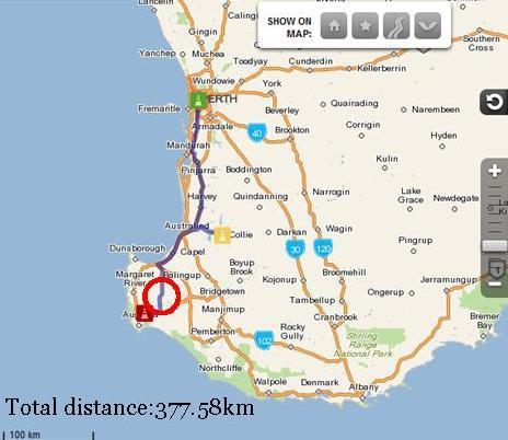 Perth to Alexandra Bridge
