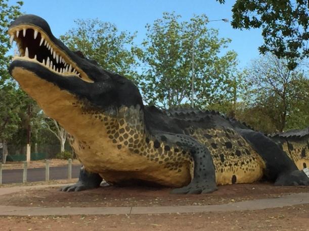 The Big Crocodile, Wyndham