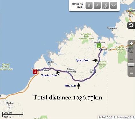 Wyndham to Broome, Western Australia