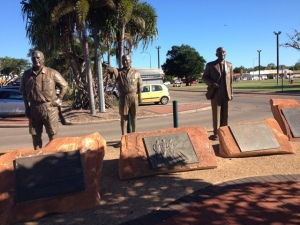 Broome Statues