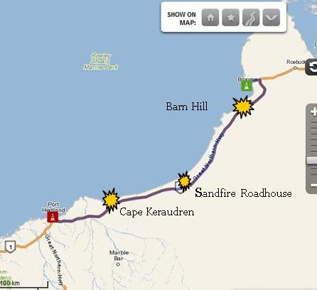 Broome to Port Hedland