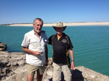 Geoff & Mick at Willie Creek