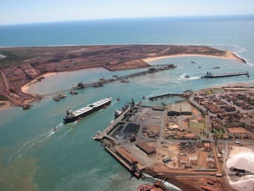port-hedland-aerial view
