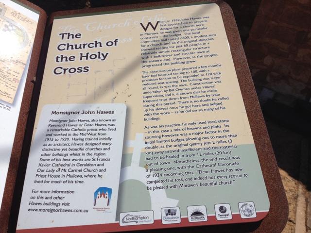 Church of the Holy Cross, Morawa, Western Australia