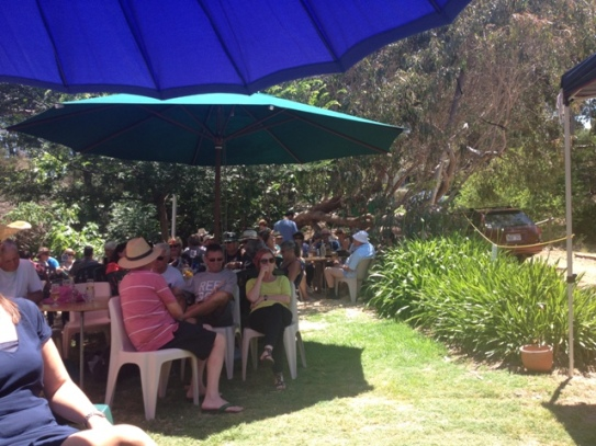 Blues at the Cidery, Bridgetown, Western Australia