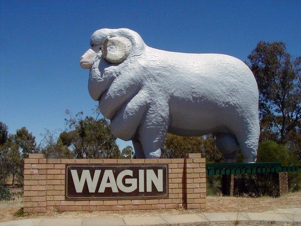 Wagin. Western Australia