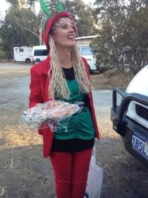 Jolanta is one of Santa's elves!