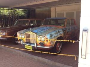 Pro Hart's signature cars