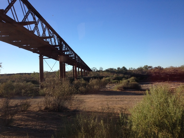 Algebuckina Bridge, South Australia