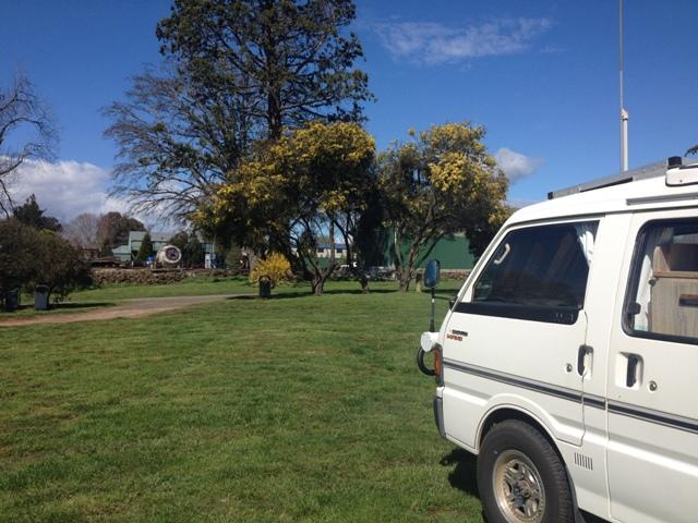 Deloraine Free Camp, Tasmania