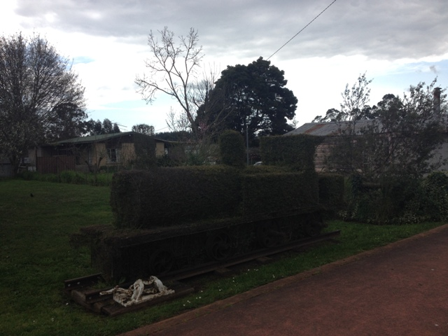 Topiary in Railton, Tasmania