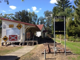 The old Biloela Railway Station
