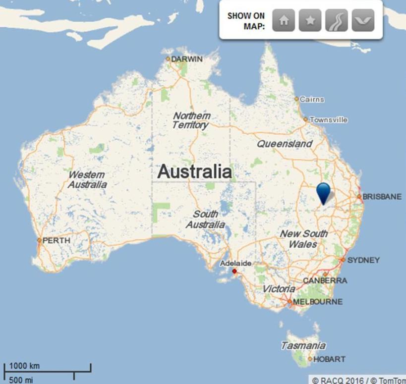 Nindigully map