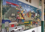 Mosaic wall, Ingham Queensland