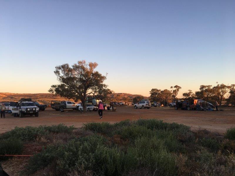 Camping at Yaraka Queensland