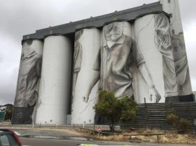Silos at Coonalpyn, South Australia
