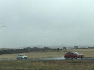 Raining in South Australia