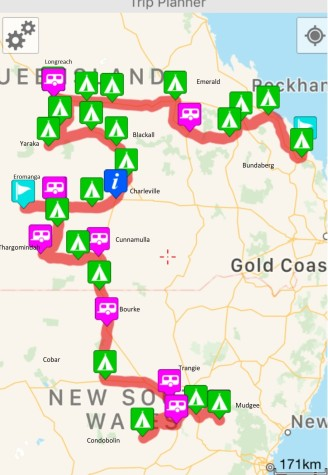 Bundaberg to Mudgee