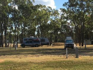 Campground Jandowae, Queensland
