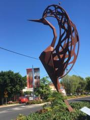 Statue in Texas, Queensland