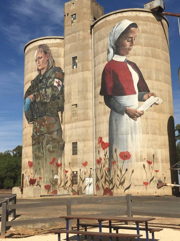 Devenish Silo Art, Victoria