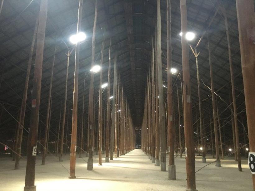 Inside Murtoa Stick Shed, Murtoa, Victoria