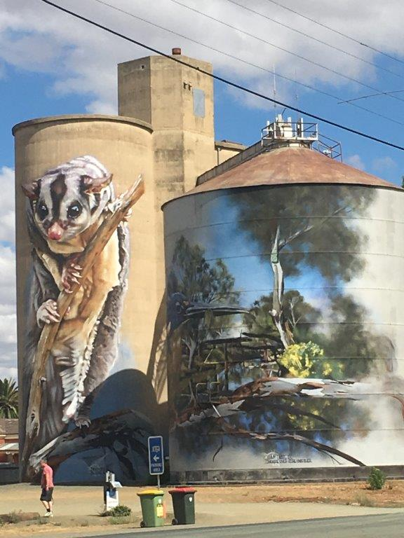Rochester Silo Art, Victoria